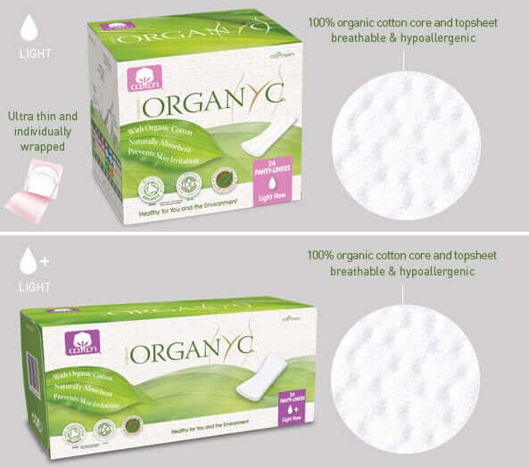 Top 5 Organic Cotton Menstrual Pads Amp Panty Liners Reviews